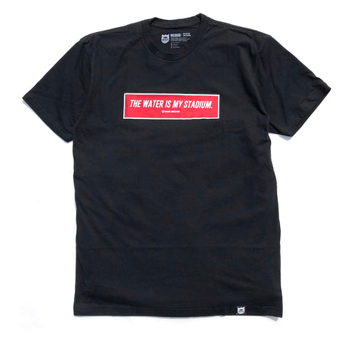 Box Twims Tee Red - Black