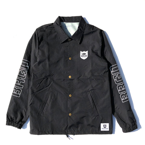 BRGD Riders Coaches Jacket - Black