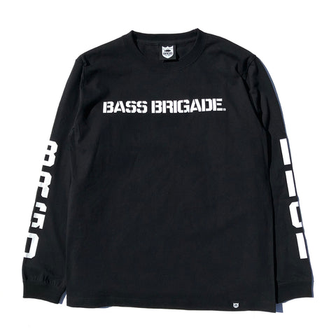 BRGD Riders V2 L/S Tee - Black/White