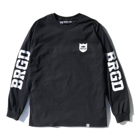 BRGD Riders LS Tee - Black