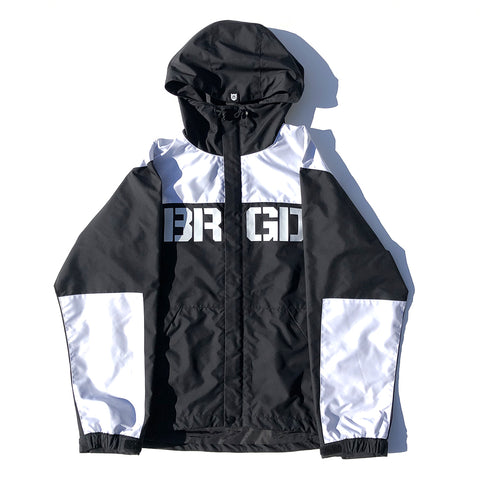 BRGD Logo Mountain Jacket - Black/White