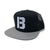B Logo Trucker Hat - Grey/Black