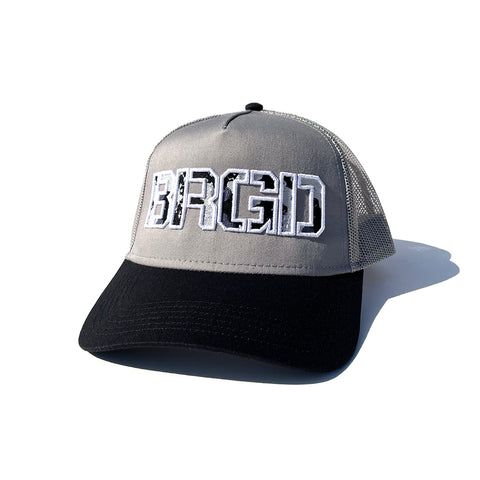 BRGD Lake Camo Trucker Hat - Grey