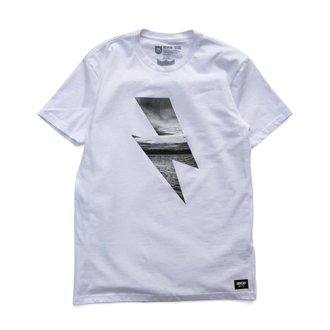Bolt Photo Tee - White