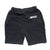 Bolt Sweat Shorts - Black/White
