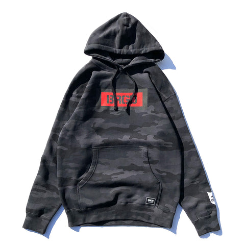 BRGD Box Pullover Hoodie - Black Camo