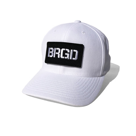 BRGD Patch Cool&Dry Cap - White