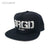 BRGD Logo Snapback Hat - Black/Silver [EXCLUSIVE]