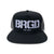 BRGD Logo Trucker Hat - Black/Charcoal