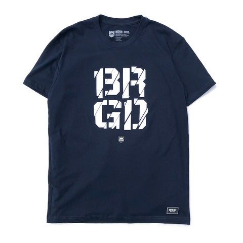 Broken Box Tee - Navy