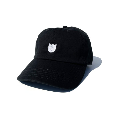 Bold Shield Cap - Black