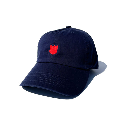 Bold Shield Cap - Navy