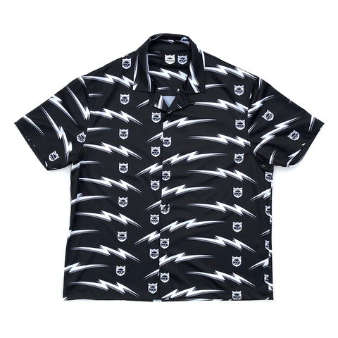Bolt Shield Pattern Dry Shirts - Black