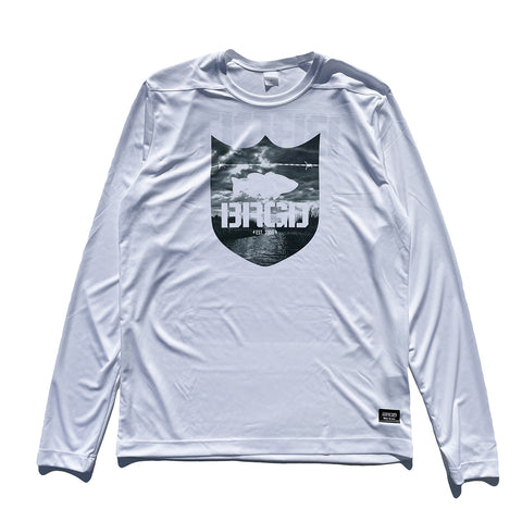 Delta Shield Performance L/S Tee - White