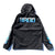 BRGD Flame Anorak Jacket - Black/Blue
