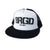 BRGD Foam Trucker Hat - White/Black