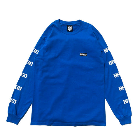 5 BRGD Logo L/S Tee - Royal Blue