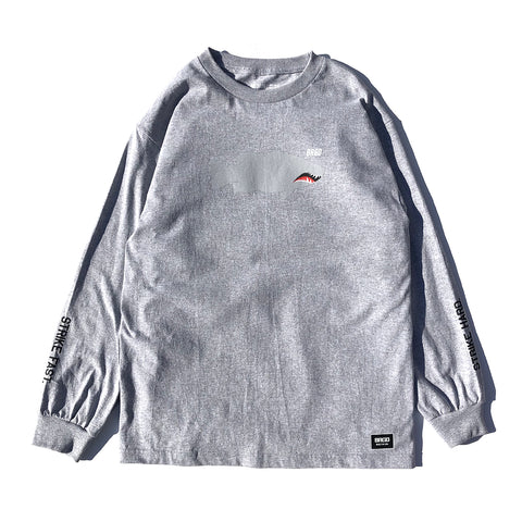 Fighter Lunker LS Tee - Athletic Heather