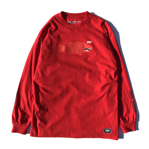 Fighter Lunker LS Tee - Red