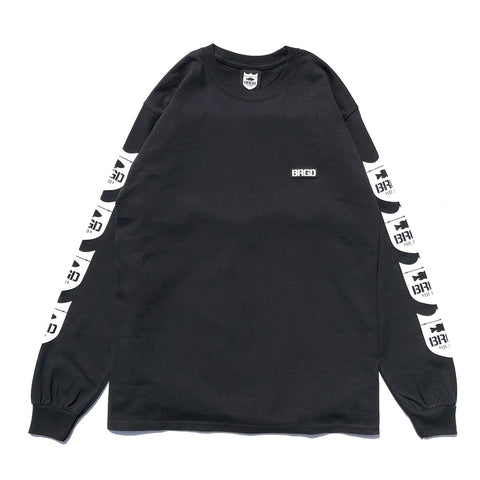 4 Shield L/S Tee - Black