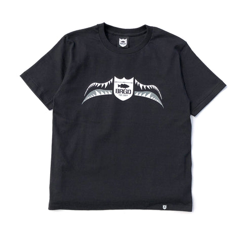 Fighter Shield Tee - Black/Grey