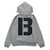 Grand B Hoodie - Heather Grey/Black