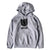 Bold Shield BRGD Pullover Hoodie - Heather Grey/Black