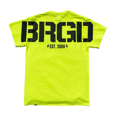 Huge BRGD Tee - Safety Green