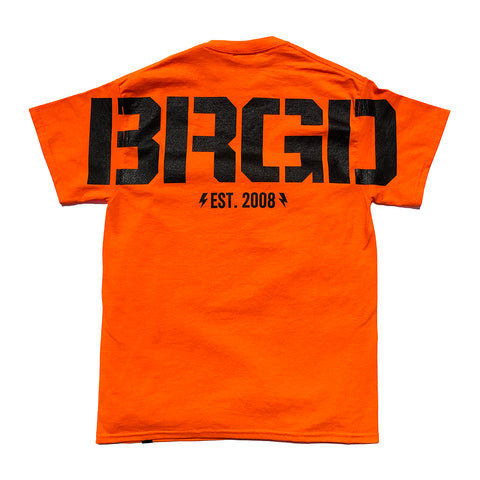 Huge BRGD Tee - Safety Orange
