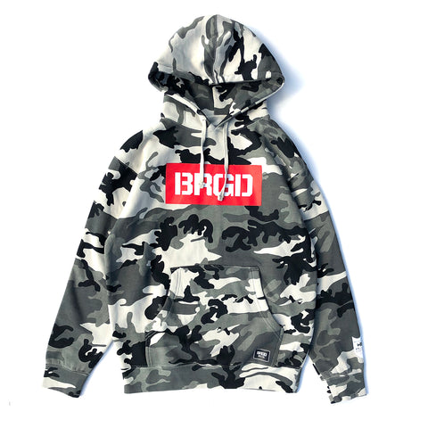 BRGD Red Box Hoodie - Snow Camo