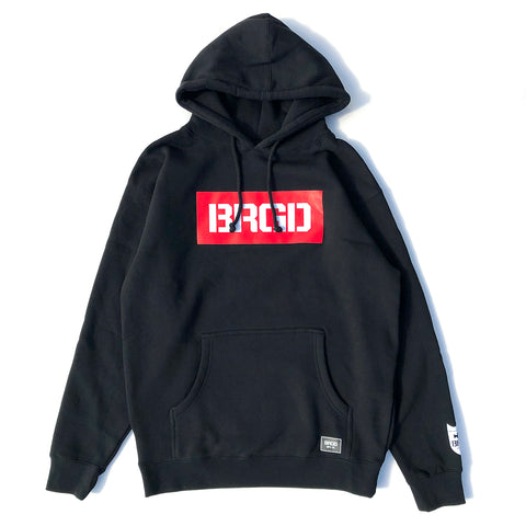 BRGD Red Box Hoodie - Black