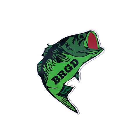 "Largie 5""×4"" Sticker - Green"