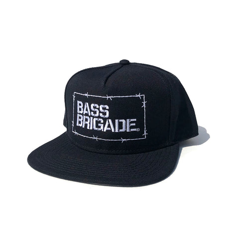 Wired BB Snapback Hat - Black/White