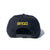 B-Bolt Snapback Hat - Black/Yellow