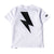 Bolt Tee - White/Black