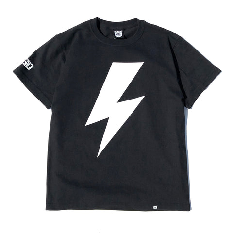 Bolt Tee - Black/White
