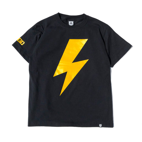 Bolt Tee - Black/Yellow