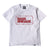 Wired BB Tee - White/Red