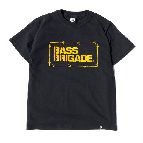 Wired BB Tee - Black/Yellow