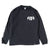 B-Bolt L/S Tee - Black/White