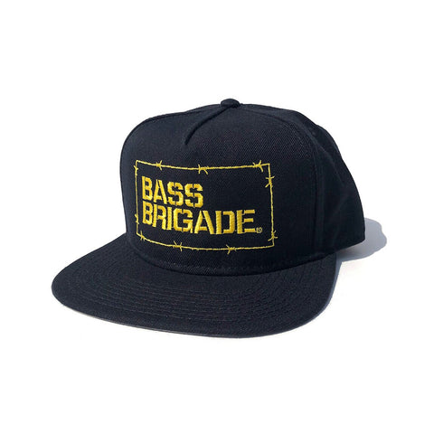 Wired BB Snapback Hat - Black/Yellow