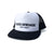BB Word Mark Trucker Hat - White/Black