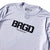 BRGD Logo Performance L/S Tee - White/Black