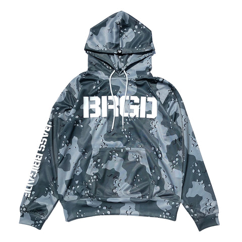 Lake Camo UV Cut Hoodie - Lake Camo Green