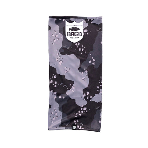Lake Camo UV Cut Neck Gaiter 2 - Lake Camo Black