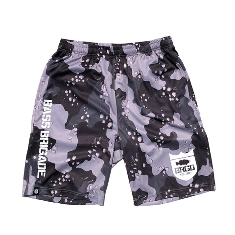 Lake Camo UV Cut Shorts - Lake Camo Black