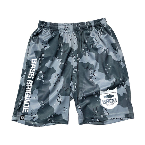Lake Camo UV Cut Shorts - Lake Camo Green