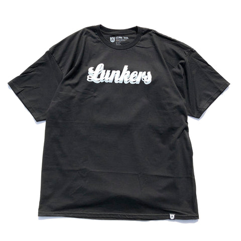 Lunkers Tee - Black/White/Grey