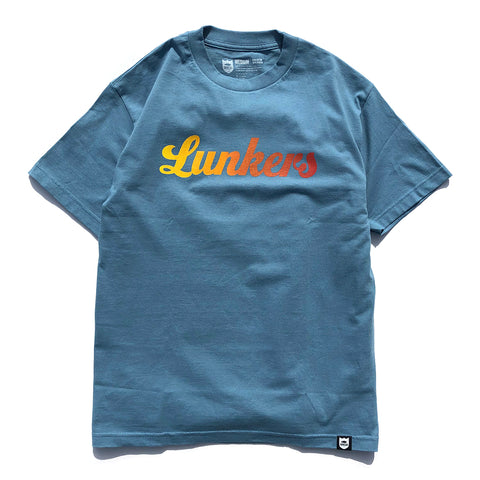 Lunkers Gradient Tee - Slate/Sunset