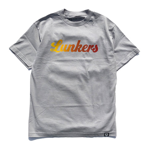 Lunkers Gradient Tee - Silver/Sunset